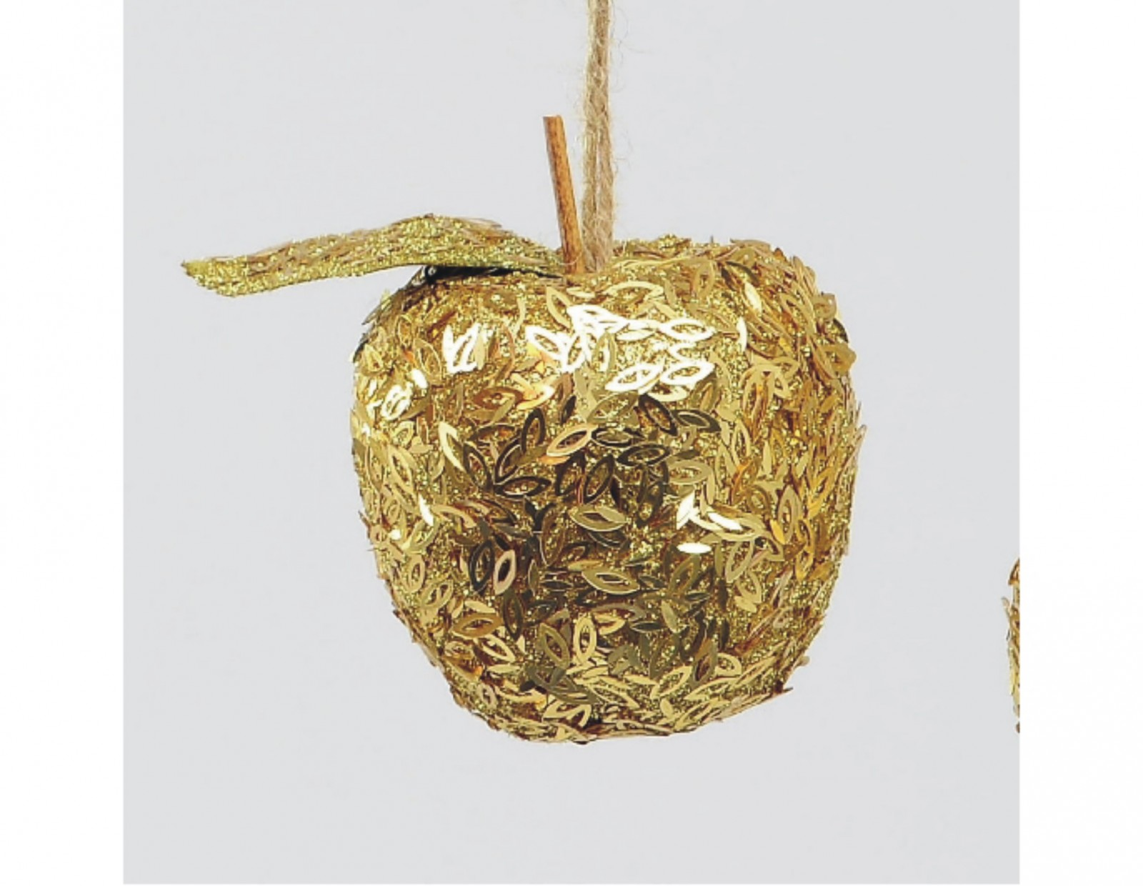 3in gold apple tree decoration smith 39 s orchard garden centre for Apple tree decoration