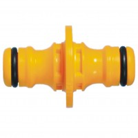 Hozelock Double Male Hose Adaptor