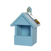 Robin Nest Box - Winter Blue