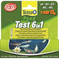 Tetrra Pond 6 in 1 Test Strips
