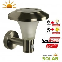 Calais Solar Outdoor Wall Light