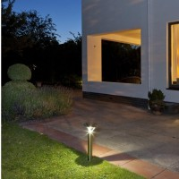 Perpignan Solar Post Light