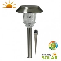 Marseille Solar Hybrid Post Light