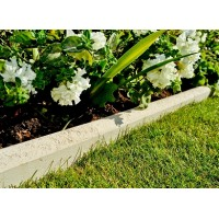 Round Top Stone Edging - Natural