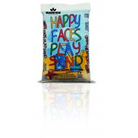 HAPPY FACES PLAY SAND LGE BAG