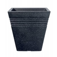 Piazza Square Planter -Granite