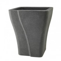 Square Wave Planter - 38cm