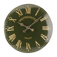 Westminster Tower Wall Clock Green