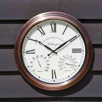 Mollington Wall Clock & Thermometer