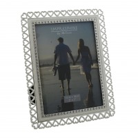 Crystal Heart Edge Photo Frame