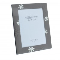 Aluminium Flower Photo Frame