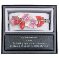 Red Moonstone Butterflies Bracelet