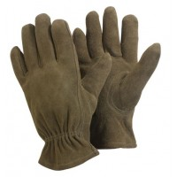 Washable Gardener Mens Gardening Gloves Olive MED