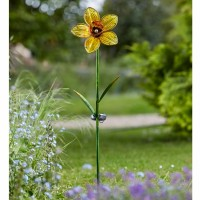 Solar Garden Light - Daffodil