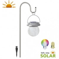 Artigas Solar Hanging Lamp With Colour Changing
