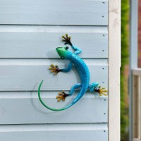 Décor Gecko Blue