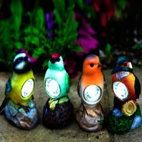 Bird Solar Spot Lights