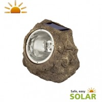 Luxform Lighting - Andes 3 LED Solar Rock Light