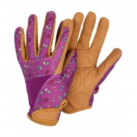 Profession'elle' Purple Butterflies Gloves