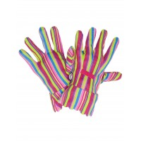 Bold Stripe Gardening Gloves