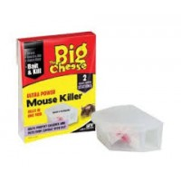 Ultra Power Mouse Killer Twin Pack Bait Box