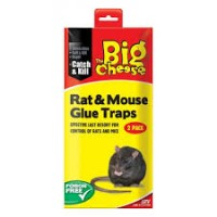 Ready-To_use Rat & Mouse Glue Traps Twin Pack