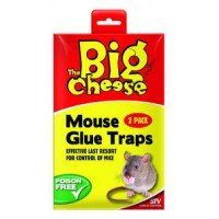 Ready-To-Use Mouse Glue Traps Twin Pack