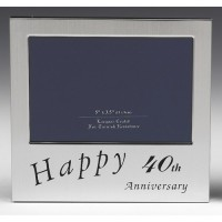 Occasion 40th Anniversary Frame