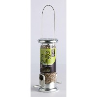 Ring Pull Seed Feeder - Zinc Small