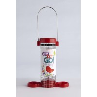 Get Set Go Peanut Feeder - Red