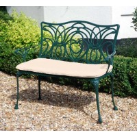 Norfolk Green 2 Seater Bench