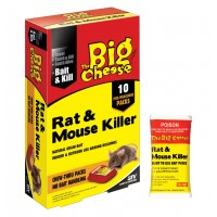 Rat & Mouse Killer - Bait Pack 400g