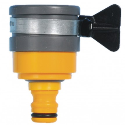 ROUND MIXER TAP CONNECTOR 2177