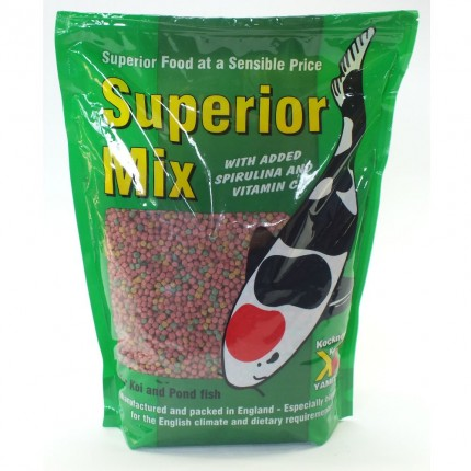 Superior Mix 4mm Fish Food