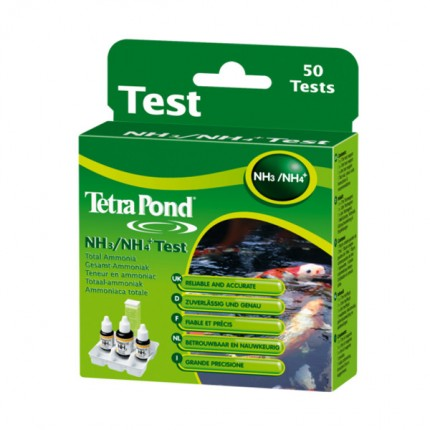 Tetra Pond Kit Ammonia 50 Tests