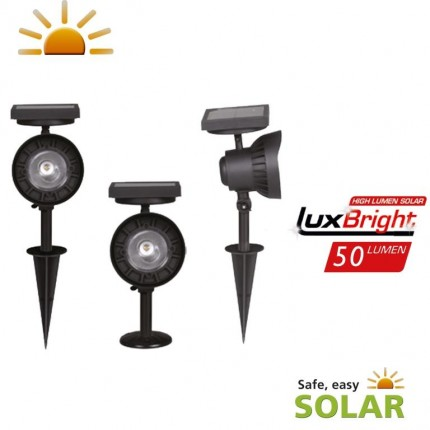 Luxform Lighting - La Rochelle Solar Spotlight
