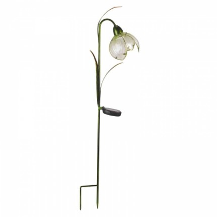 Solar Garden Light - Snowdrop