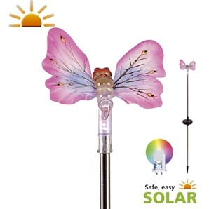 Butterfly Solar Garden Light