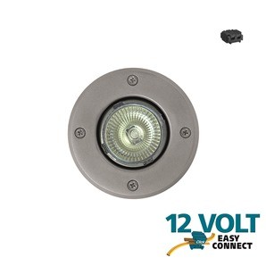 Stainless Steel Round Garden Uplight