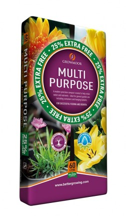 Multi-Purpose Compost 60L + 25%