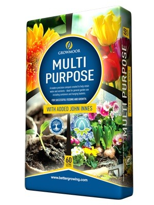 Mutli-Purpose with added John Innes 60L