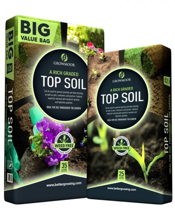 Growmore Top Soil 35L
