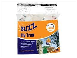 Baited Ready-To-Use Outdoor Fly Trap