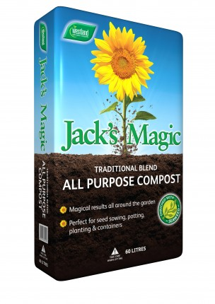 Jack's Magic All Purpose Compost 60lt
