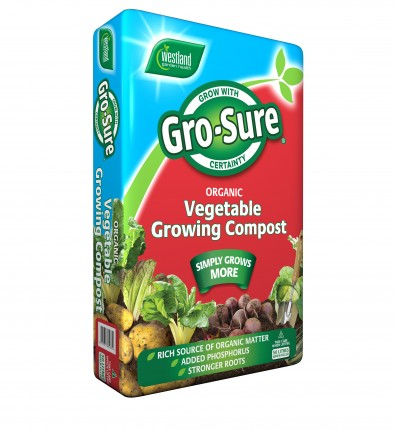 Gro-Sure Vegetable Growing Compost  50lt